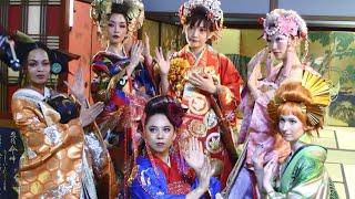 Women of YouTube Japan   Kimono music video collab!! ミュージックビデオコラボ!