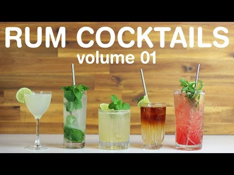 BEST RUM COCKTAILS - Volume 01