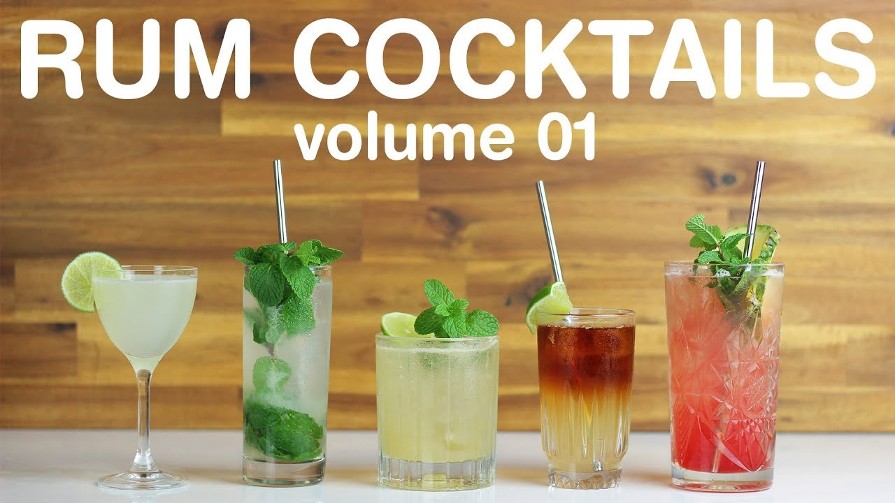 Best Rum Cocktails Volume 01 Youtube