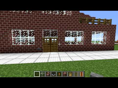 tuto minecraft construire un simple maison en brique parti 1 youtube. Black Bedroom Furniture Sets. Home Design Ideas