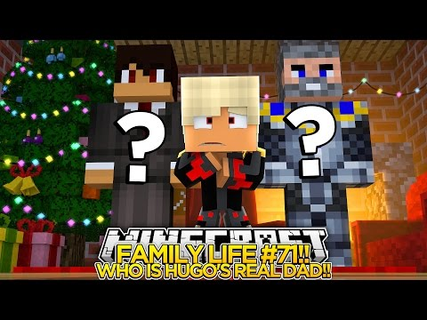 Minecraft FAMILY LIFE Mystery #71 - WHO IS BABY HUGO'S REAL DAD!! Little Donny Roleplay.
