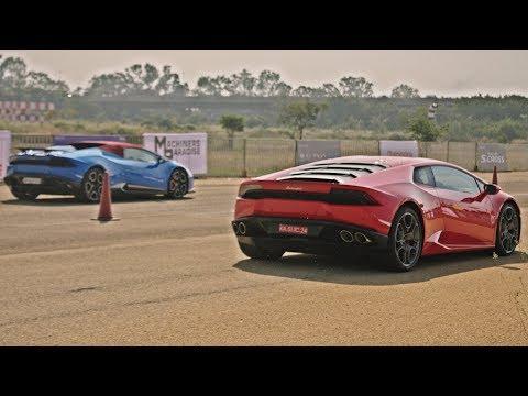 SUPERCARS DRAG Racing In INDIA - Speed Week 2017 (Bangalore)