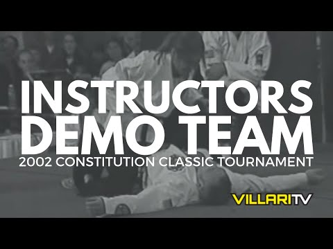 Villari's Shaolin Kempo Karate CT Instructors Demo 2002