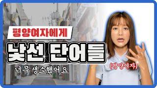 평양여자가 한국에 와서 들었던 신기한 단어 TOP3