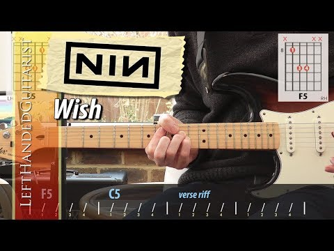 Nine Inch Nails - Wish | guitar lesson