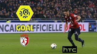 Goal Yassine BENZIA (38') / Olympique Lyonnais - LOSC (1-2)/ 2016-17