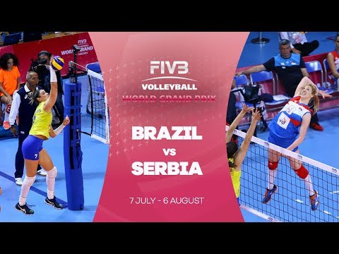 Brazil v Serbia highlights - FIVB World Grand Prix