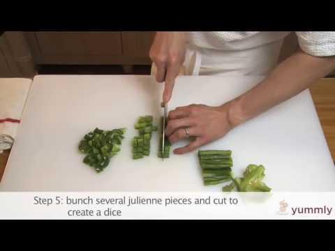 How to Cut a Pepper