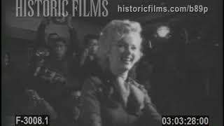 MARILYN MONROE AND JOE DIMAGGIO HONEYMOON IN JAPAN - 1954