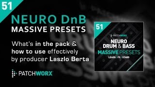 Neuro Drum Bass Massive Presets - How To Use Guide