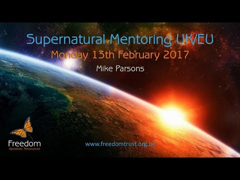 Supernatural Mentoring Monday 13th February 2017 UK/EU