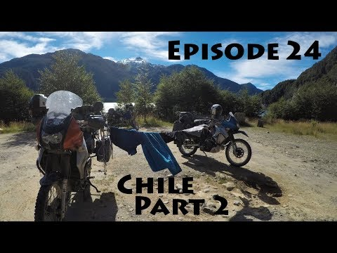 Americas Motorcycle Trip - Episode 24: Chile Part 2