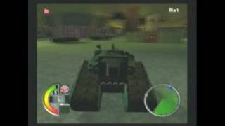 World Destruction League: Thunder Tanks PlayStation 2