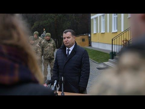 Степан Полторак: «У нас з'являється нова потужна високотехнологічна зброя...»