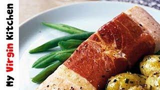 Parma Ham Wrapped Salmon