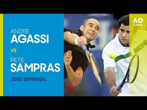 Andre Agassi vs Pete Sampras Australian Open 2000 Semi Final | AO Classics