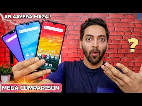 Redmi Note 7 Vs Zenfone Max Pro M2 Vs Realme 3 - Camera,Performance,Widevine,Display,Battery & More