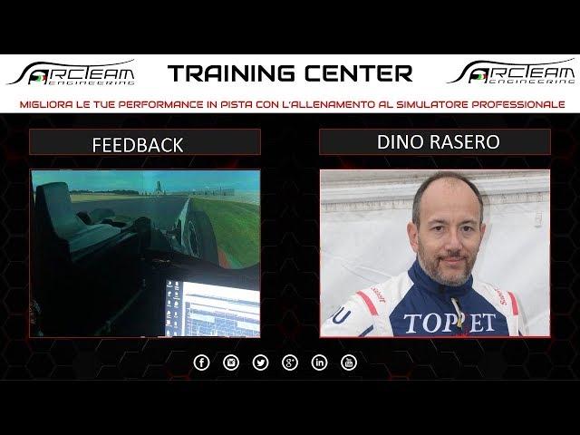 Opinione Simulatore Piloti - DINO RASERO - Formula 3