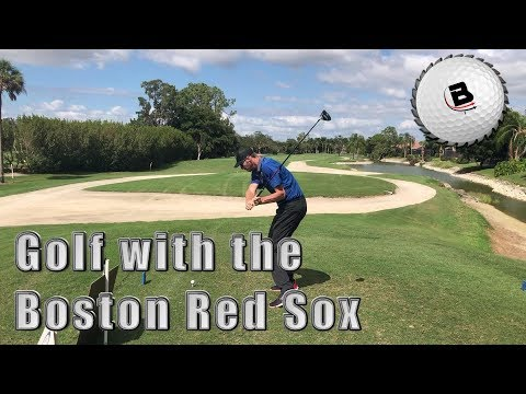 Golf with the Boston Red Sox