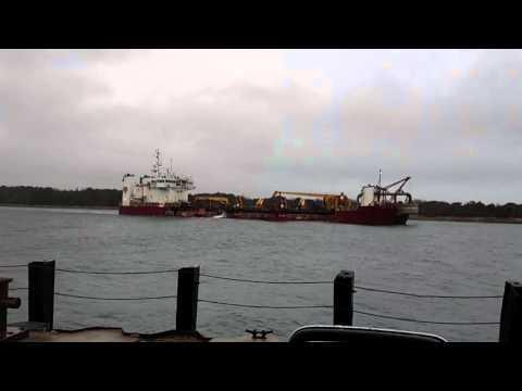 Dredge Dodge Island Cape Cod Canal