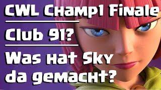 [550] Was ist Sky denn da passiert? CWL Champ 1 Finale Teil 3 | Clash of Clans Deutsch COC