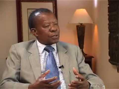 Sir Quett Masire (1), Ex-President of Botswana