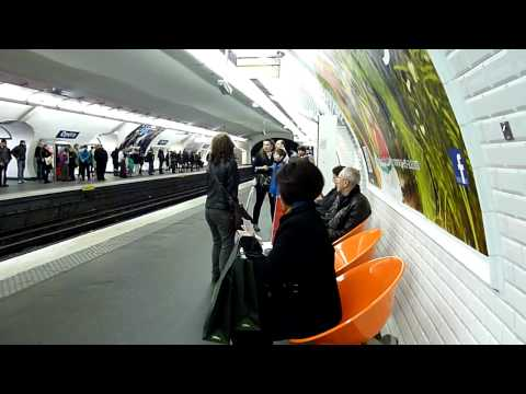OPERA Metro Station - Paris, France -  02 MAY 2012