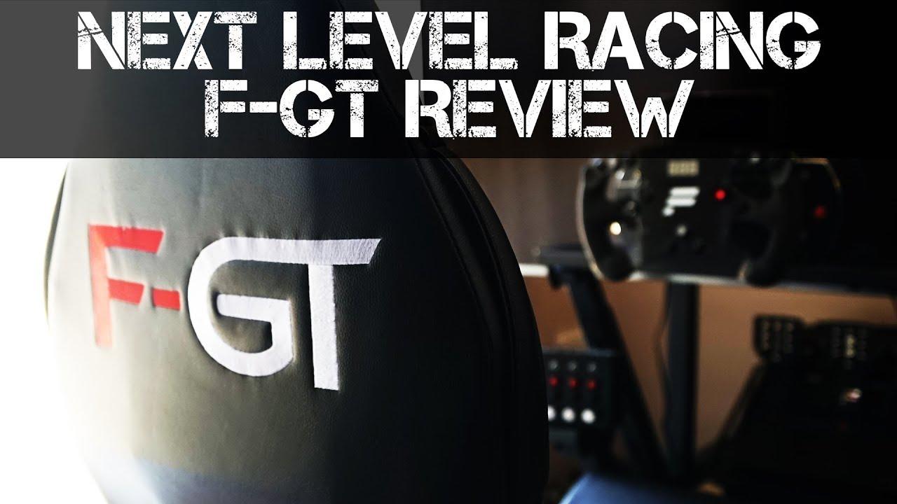 Next Level Racing F-GT Formula and GT Simulator Cockpit