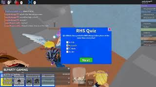 Test de connaissances au lycée ROBLOX