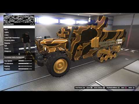 GTA Online Gun Running DLC Buying the Half-Track and Anti-Aircraft Trailer