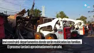 Destruyen campamento en Iztapalapa