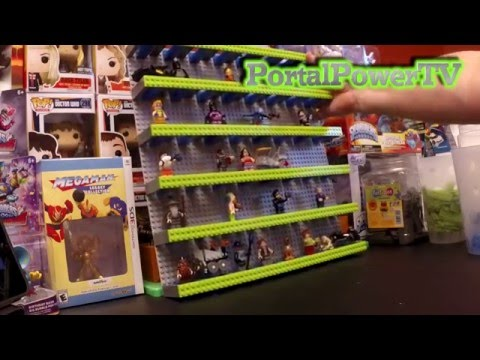 Lego Build - Lego Dimensions Figure and Vehicle Display - YouTube