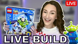 To Infinity and Beyond // LEGO Toy Story ConstructaBuzz Live Stream Build (7592)