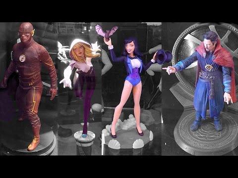 2016 New York Comic Con Diamond Select Diamond Comics Previews Booth NYCC Ban Presto Figures Statues