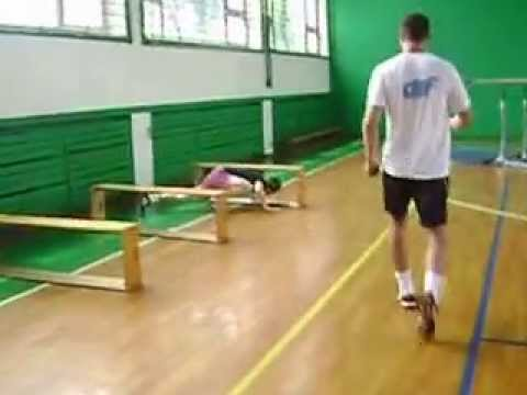 Poligon gimnastike za DIF. Pripreme za upis na DIF.