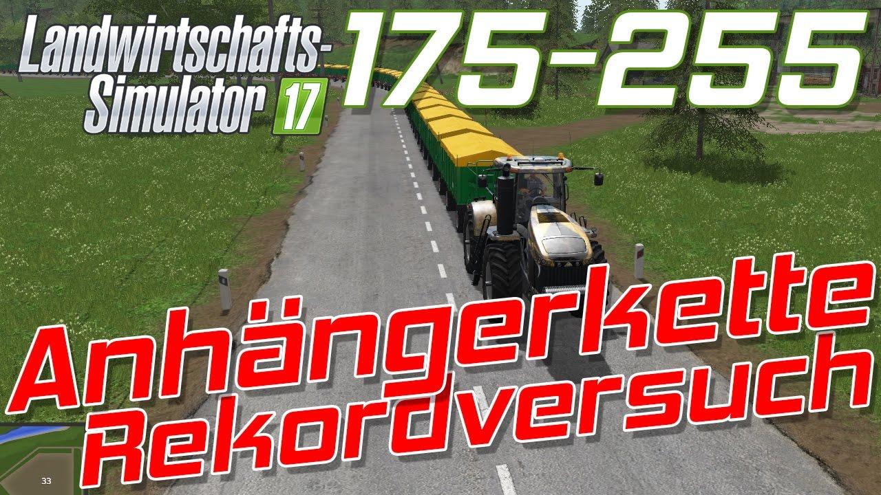 Anhängerkette Rekordversuch Landwirtschafts-Simulator 2017 | 255 ...