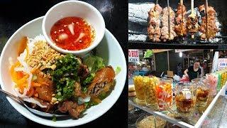 Khu ẩm thực Chợ Xóm Chiếu, q.4: VUI, RẺ, Nhiều món ăn - Ngắm đại lộ Võ Văn Kiệt từ trên cao