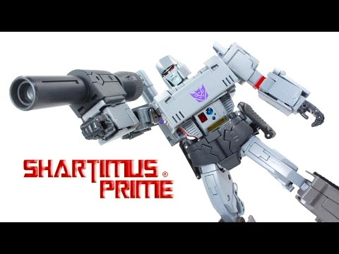 Transformers MP-36  Megatron Masterpiece Takara Tomy Destron Leader Import Action Figure Toy Review