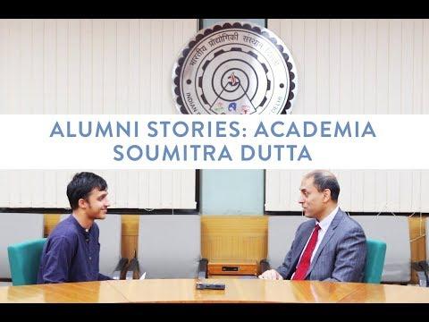 Alumni Stories : Soumitra Dutta | Distinguished Alumni Awards '17
