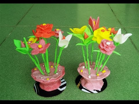 """How To Create Flower From Rice Flour - """"Tò He"""" Art"""