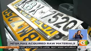 Issuance of  number plates to resume