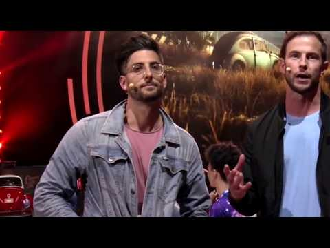 Jesse Wellens announcing Need For Speed at EA's E3 only it's kind of awkward