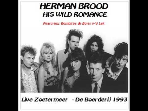 Herman Brood and His Wild Romance Live - Zoetermeer - De Boerderij 25-06-1993