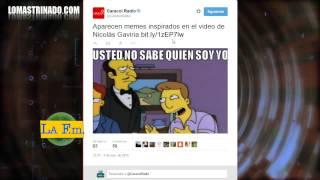 ENTREVISTA NICOLAS GAVIRIA - USTED NO SABE QUIEN SOY YO