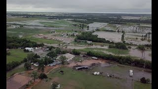Flooding shuts down I-40 Tuesday in Canadian County, El Reno schools canceled