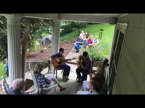 Wayne Henderson and Presley Barker at River House