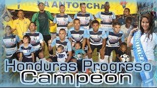 C.D Honduras El Progreso celebración. Luis  Sierra Foto & Video Producciones