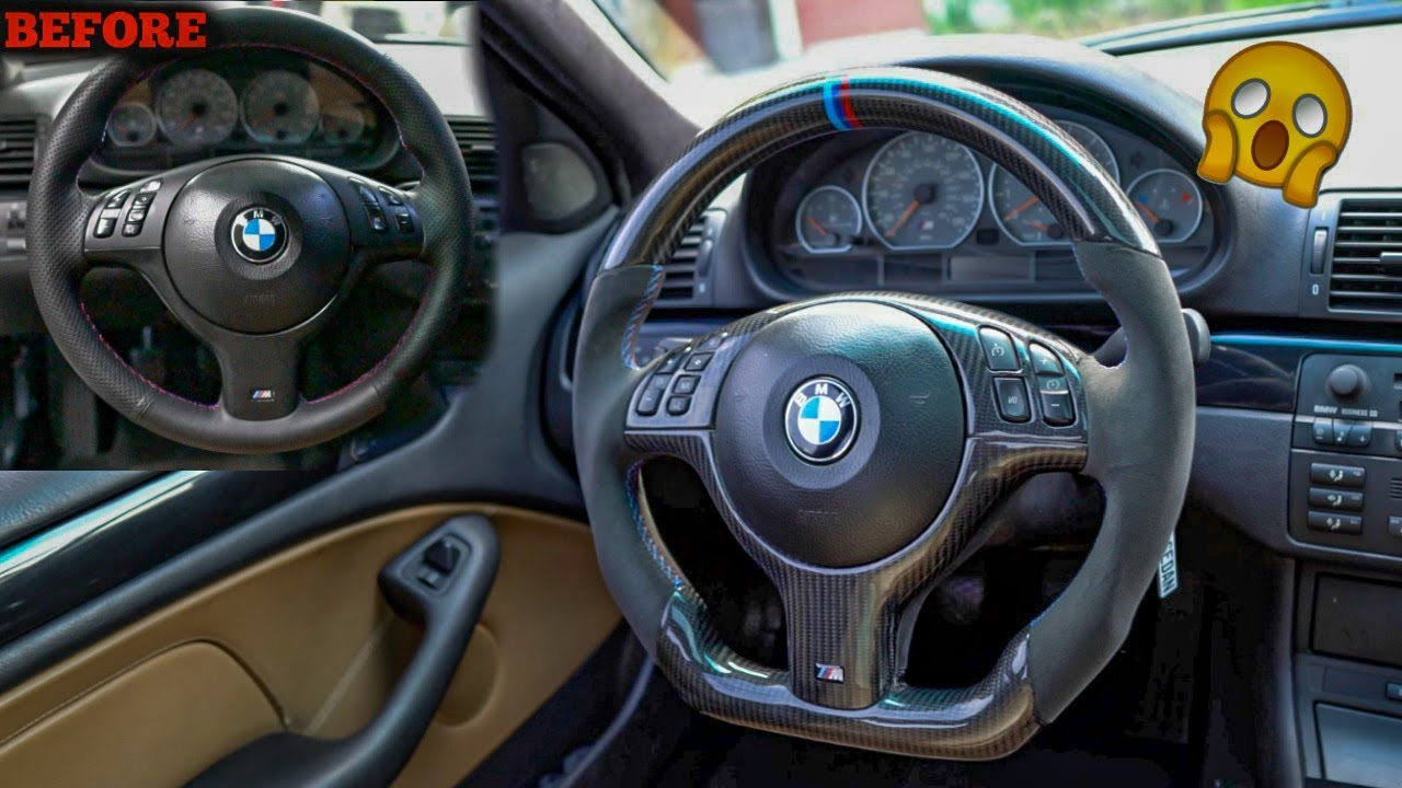 Best Bmw Steering Wheel Upgrade Fully Customized M Wheel