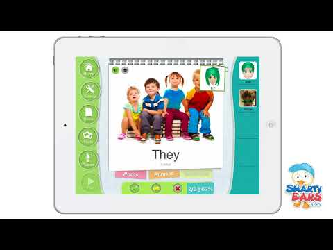 Articulate it app Video Demo for Speech Language Pathologists