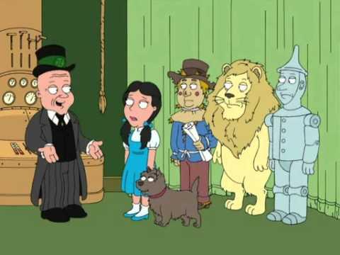 Family Guy Wizard Of Oz